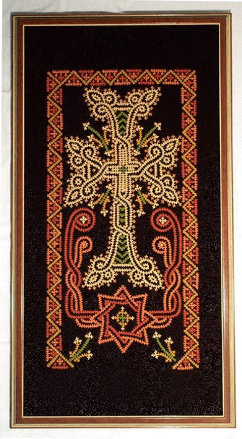 Армянские узоры вышивка 77