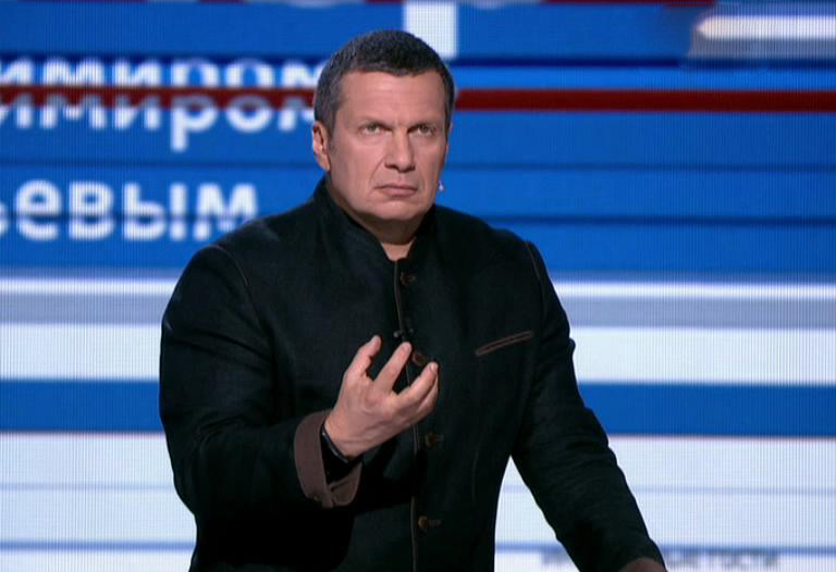 Скандал в прямом эфире: Владимира Соловьева