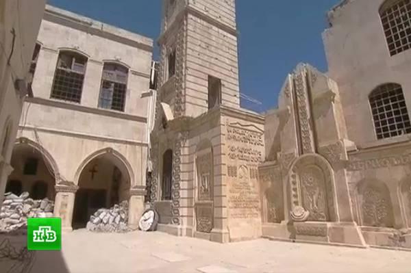 Картинки по запросу Армянская церковь начинает восстановление в Алеппо