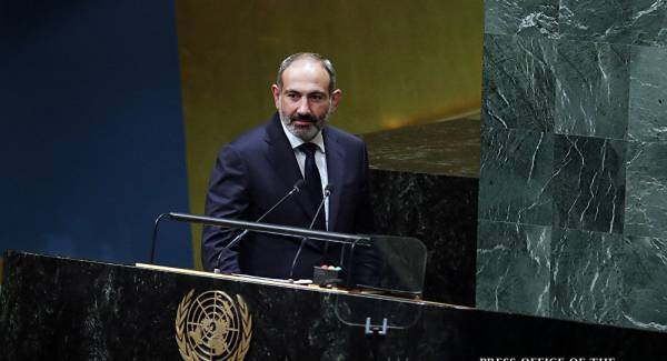 """Картинки по запросу """"Азербайджану нужны территории, а не народ Нагорного Карабаха"""": Пашинян в ООН."""